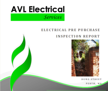 Property Electrical Inspection Report