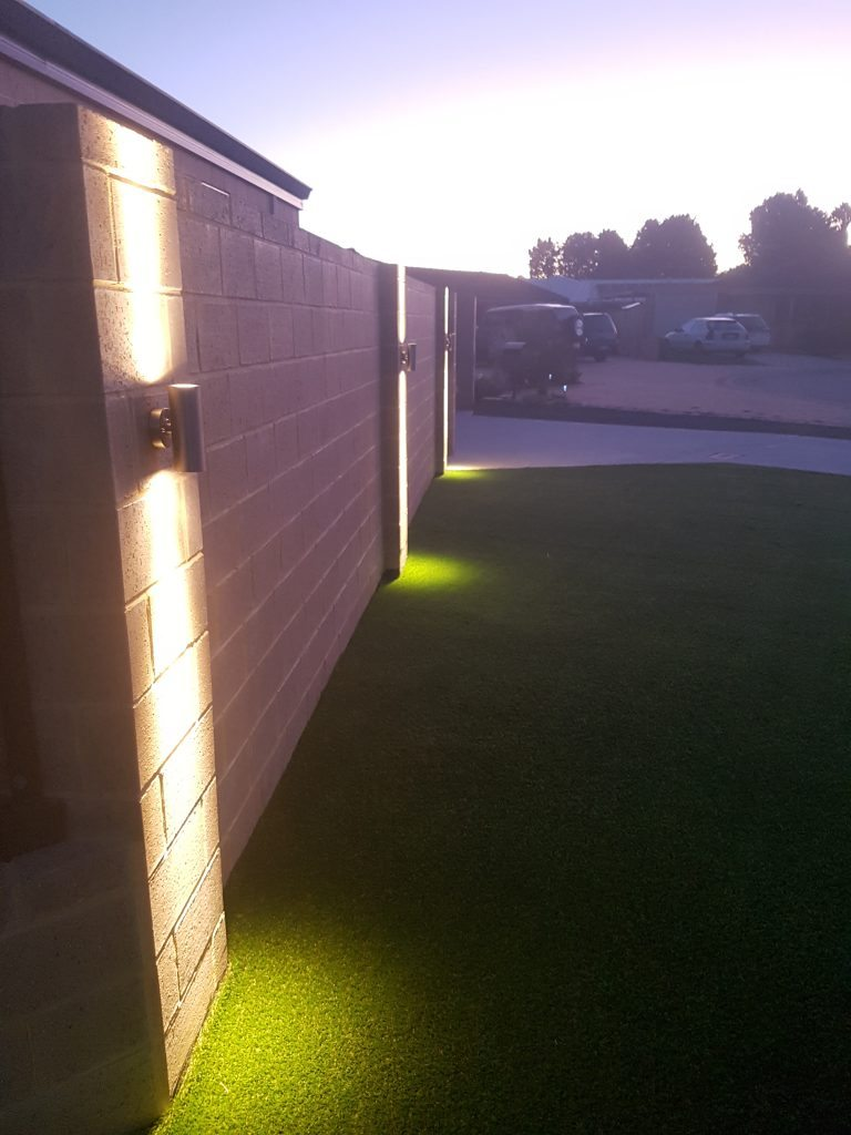Led Outdoor Stainless Steel Lighting Job Complete