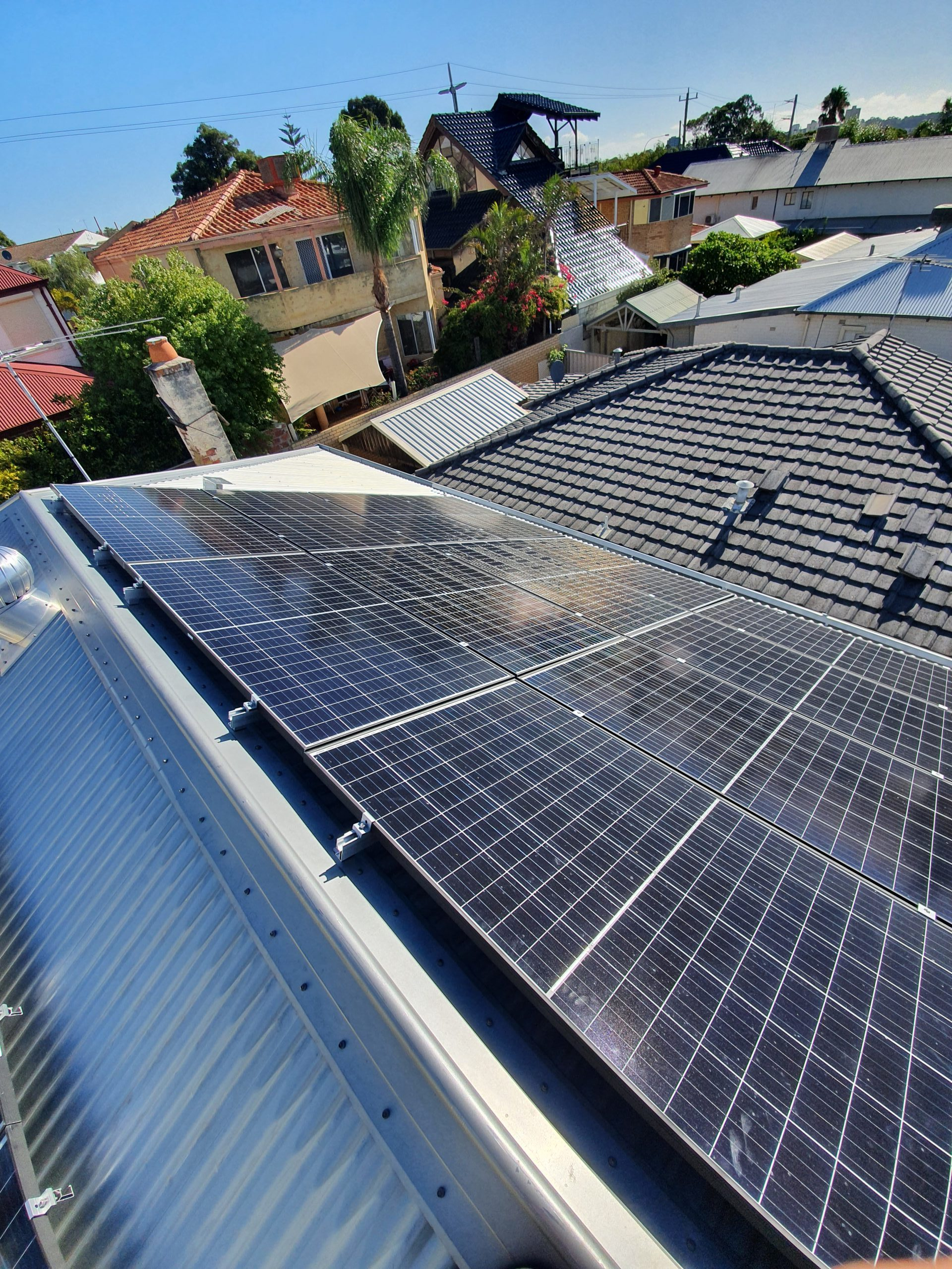 South Perth 6.66kW Solar System Panels Installed