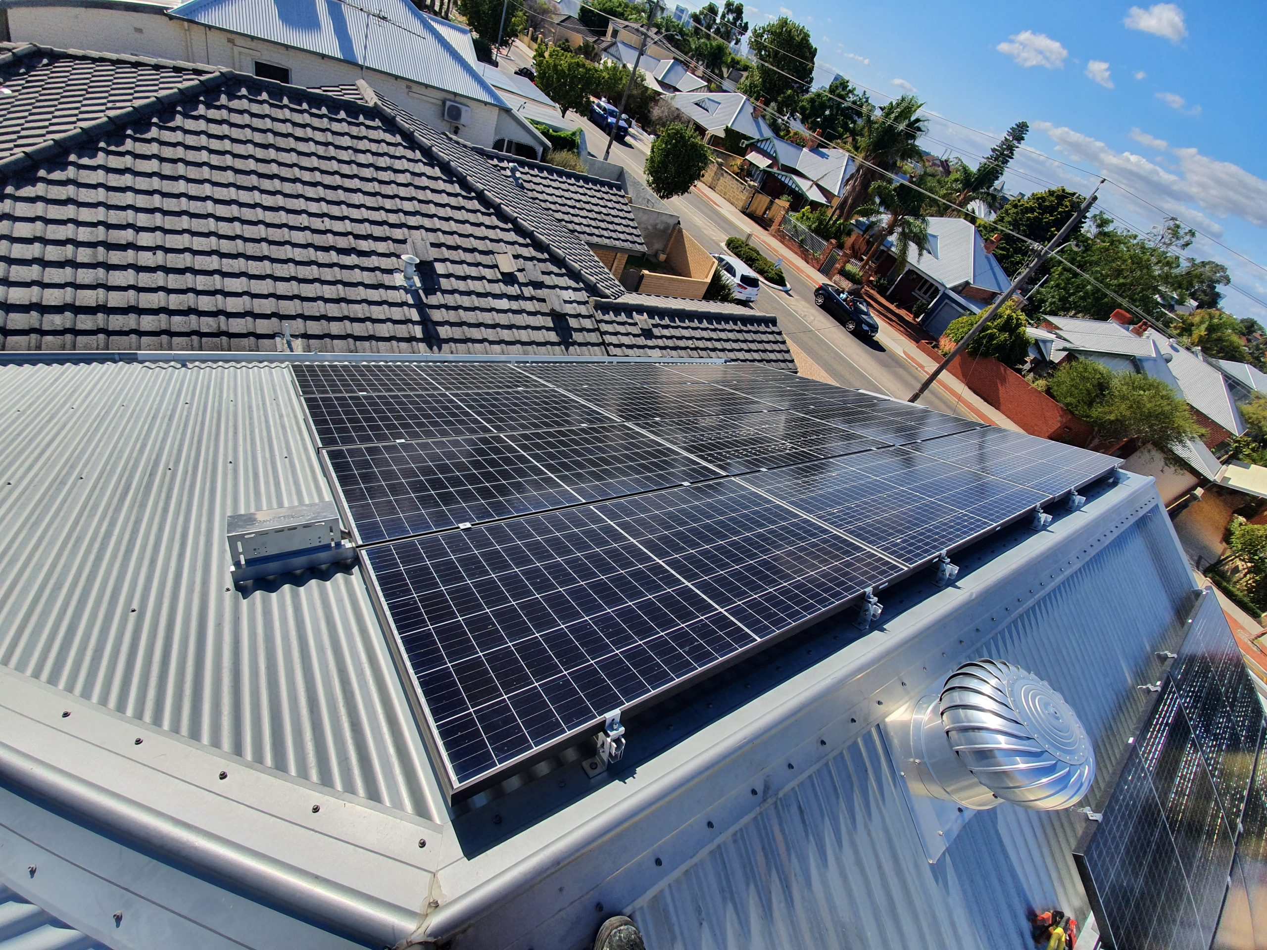 South Perth Solar System Installed By Accredited Solar Electricians
