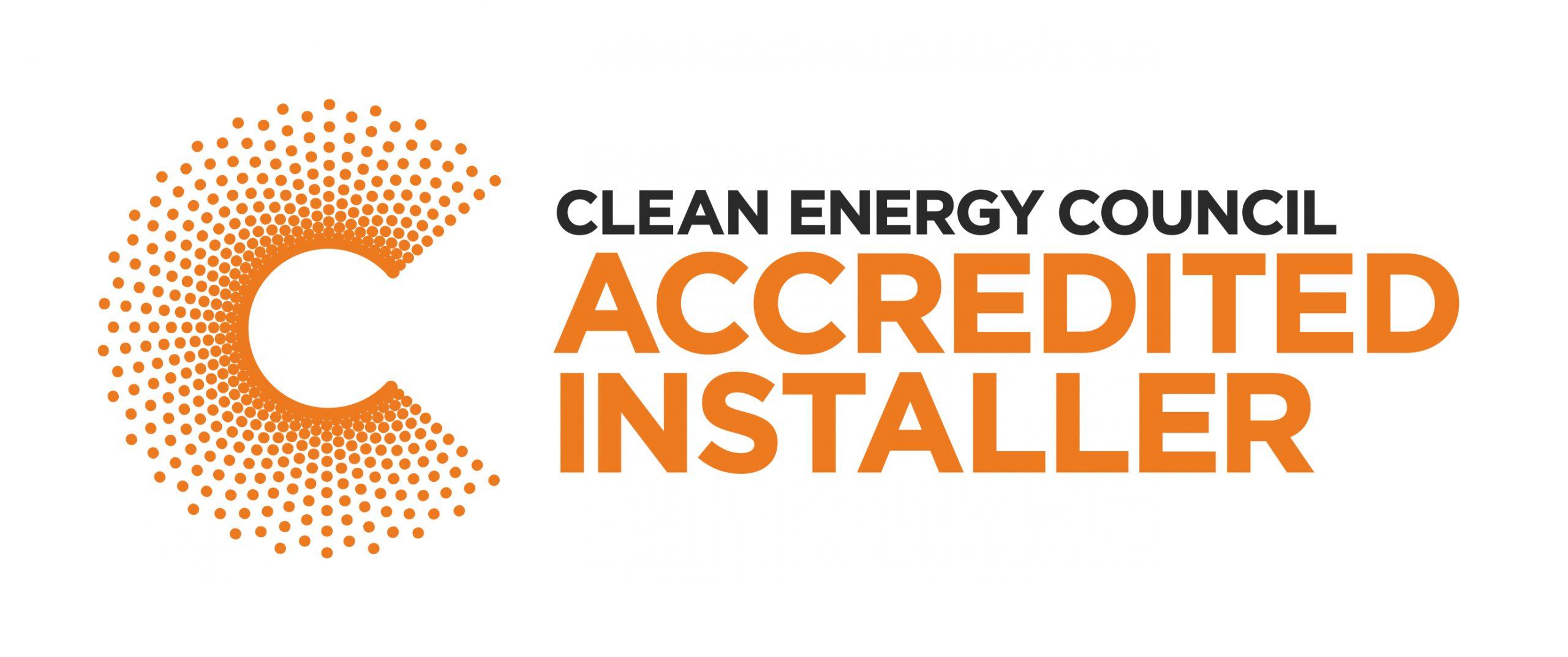 Clean Energy Council Accredited DInstallerLogo
