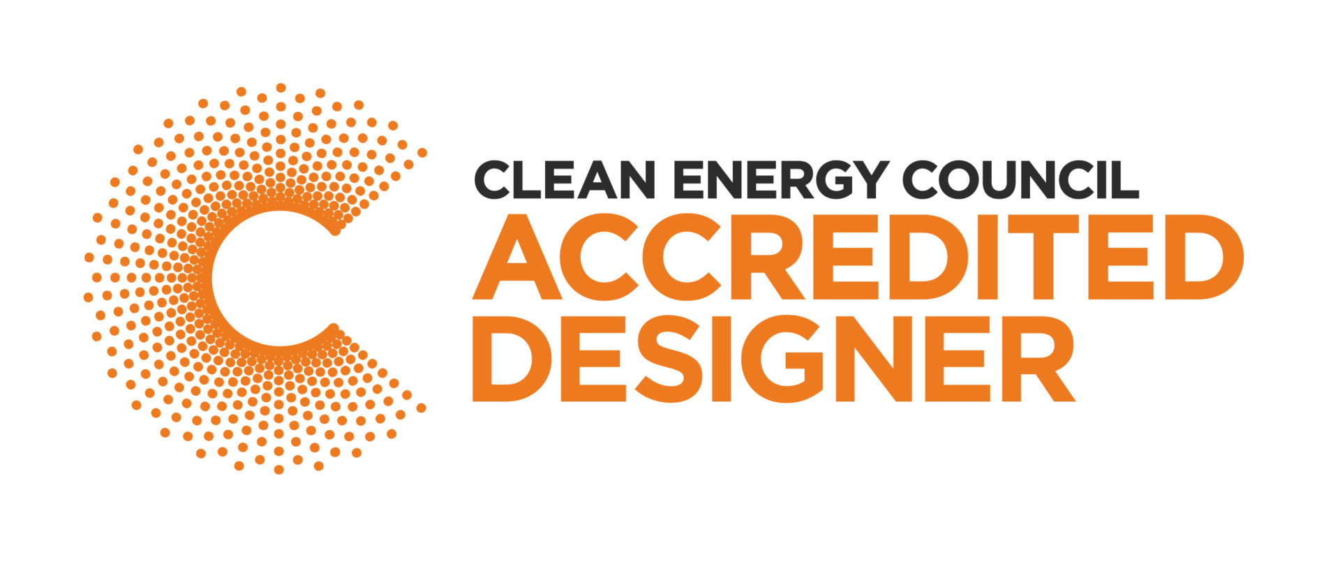 Clean Energy Council Accredited Designer Logo